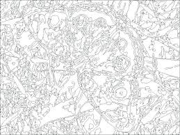 Free Printable Color By Number Pages For Adults Free Coloring Pages