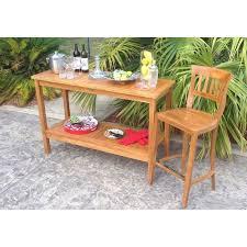 chic teak furniture. Brilliant Teak Teak Santa Barbara Serving Table  Chic  For Furniture R