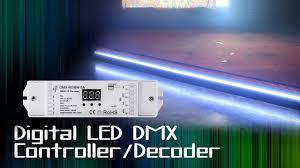LED Digital <b>DMX</b> Controller Decoder 4 Channel - YouTube