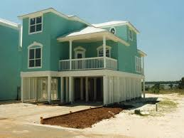 Raised Beach House Classic Cape Cod Style Hwbdo  Building Plans Elevated Home Plans