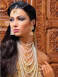 s asian makeup artists in london stunning bridal jewellery pearls pearlore pearls
