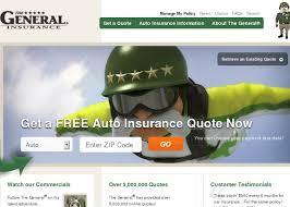 the general auto insurance quote for arizona california texas tennessee wisconsin california als u s states