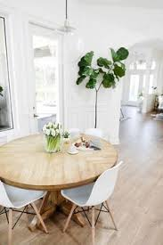 white wood dining chairs. Add A Fiddle Leaf Fig And Some Eames Dining Chairs You\u0027ve Got GOOD Set Up. Shop This Look At Smart Furniture.com White Wood R
