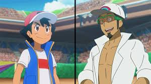 Pokemon Characters Battle: Ash Vs Kukui (Alola League Rematch) - YouTube