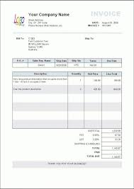 Example Of Invoice New Invoice Layout Example Invoice Template Ideas Standard Invoice