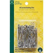 Amazon.com: Dritz Quilting Curved Basting Pins - Size 3 - 40 ct. & Dritz Quilting Curved Basting Pins - Size 3 - 40 ct. Adamdwight.com