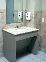 commercial restroom countertops bathroom sinks and sink height commercial restroom countertops