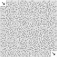 Gratis Doolhof Labyrinth Puzzle Game Voor Kinderen Hard 013