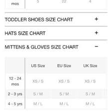 Gap Gloves Size Chart Gap Toddler Girl Mitten 2 3t