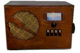 Image result for picture of an old fashioned radio