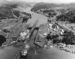 Image result for panama canal under construction