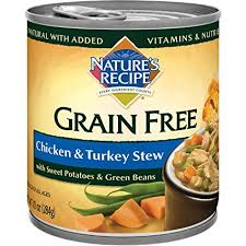 nature s recipe grain free wet dog food en turkey stew 10 ounce