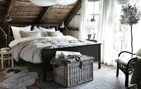 Rustikales Schlafzimmer Im Landhausstil Ikea Rustikale Holz