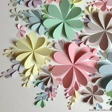 paper on wall decoration delightful paper flower wall art free guide and templates handmade paper paper