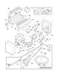 Frigidaire refrigerator ice maker wiring diagrams wiring diagram