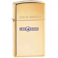 <b>Зажигалка</b> Zippo 1654 Slim® <b>Solid</b> Brass купить оптом и розницу с ...