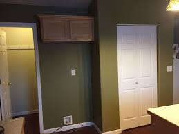 existing coat closet fridge and pantry closet behind this is a scheme of walk in pantry