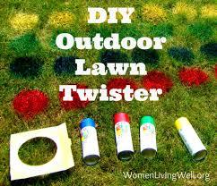Diy Outdoor Games Best 25 Lawn Twister Ideas On Pinterest Backyard Party Games