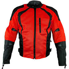 xelement xs3012 cyclone men s black red mesh tri tex armored motorcycle jacket leatherup com