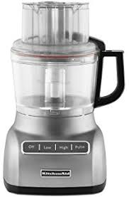 kitchenaid 9 cup exactslice food processor with julienne disc. kitchenaid kfp0922cu 9-cup food processor with exact slice system - contour silver kitchenaid 9 cup exactslice julienne disc p