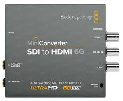Blackmagic Design Hdmi To Sdi 6g Mini Converter Blackmagic Mini Converter Sdi To Hdmi