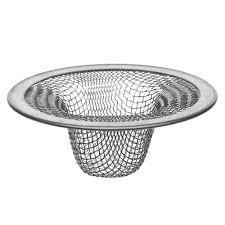 2 1 2 in lavatory mesh sink strainer