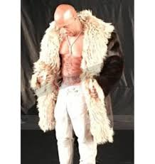 Diesel xXx 3 The Return of Xander Cage Brown Fur Coat