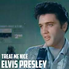<b>ELVIS PRESLEY</b> - TREAT ME NICE ('Jailhouse Rock' - in <b>colour</b>)