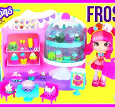 Shopkins Season 5 Frosted Cupcake Queen Cafe Playset With 8