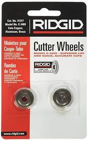 Ridgid 41317 Model E 3469 Tubing Cutter Replacement Wheel Pipe Cutter Wheel