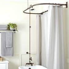 tub shower kit rim mount tub shower kit oil rubbed bronze tub to shower conversion kit