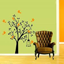 wall decoration ideas using wall decals