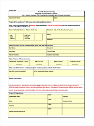 Personnel Action Forms Pdf Word Payroll Action Form Template ...