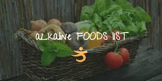 Alkaline Forming Foods List Better Bones
