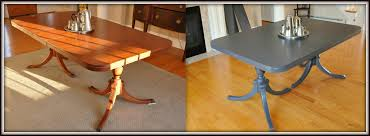Chalk Paint Dining Room Table Dining Room Table Makeover Chalk Paint Dining Room Ideas