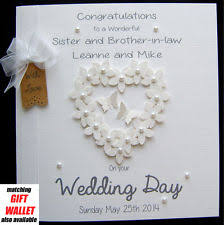 cards & stationery for celebrations & occasions ebay Wedding Cards Messages For Sister large personalised wedding day engagement anniversary congrats flowerheart card wedding cards messages for sister