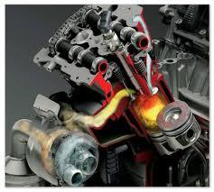 Тепловые двигатели устройство и принцип работы двигателей  Сгорание топлива во внутренней камере Рабочий ход