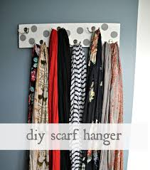 home organizing ideas and tips for clearing closet clutter home scarf holder ideas