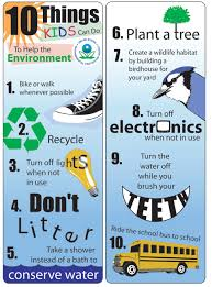 what you can do to help the environment carbonday 10thingskidscando
