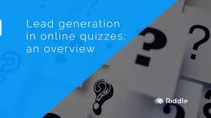 works best online quiz lead generation what quiz type works best riddle