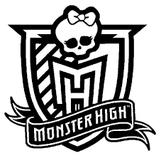 Small Picture Kids n funcom Coloring page Monster High Monster High Logo