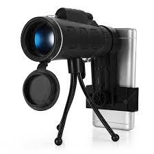 GAMEIT <b>40X60</b> HD Mini <b>Monocular Telescope with</b> Tripod | Gearbest