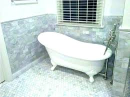 hex tile bathroom floor ideas installing marble hexagon patterns