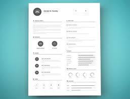 free resume template design resume template design free 15 elegant modern cv templates psd