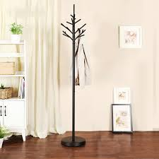 Coat Rack Hanging Iron coat rack floor bedroom clothes hanger European fashion coat 98