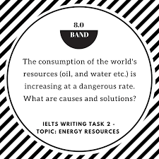 ielts writing task problem solution essay of band topic   com ielts writing task 2 topic energy resources