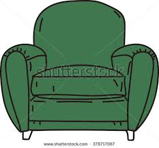 cartoon sofa chair. Cartoon Sofa Chair O