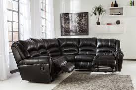 signature design by ashley manzanola black manzanola right arm facing reclining loveseat