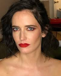 no biggie it s just evagreen looking ridiculously during hair and makeup application plum eyes lashes and a red lip velvet jazz with velvet