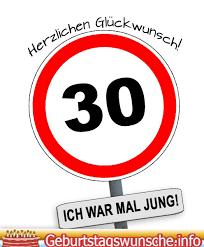 Sprüche Zum 30 Geburtstag Glückwünsche Zum 30 Geburtstag